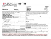 Image of, and link to, AIA G702/G703 form