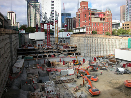 Image of Melbourne Construction Site